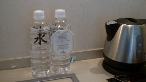 無料サービスの飲料水