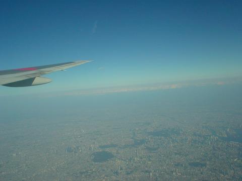 眼下には東京の街並みが広がります