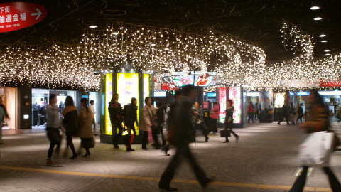 地下街の広場