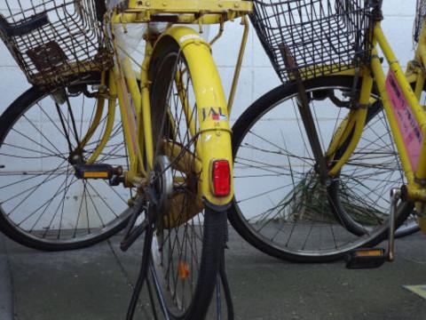 構内移動用の自転車 現役?