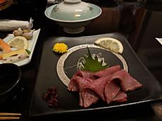 但馬牛の刺身(タタキ)