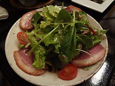 鴨のサラダ