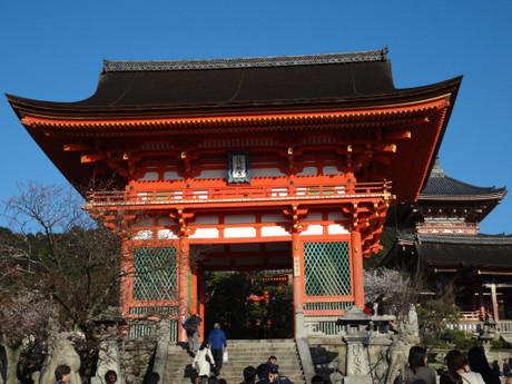 清水さんの山門(仁王門)