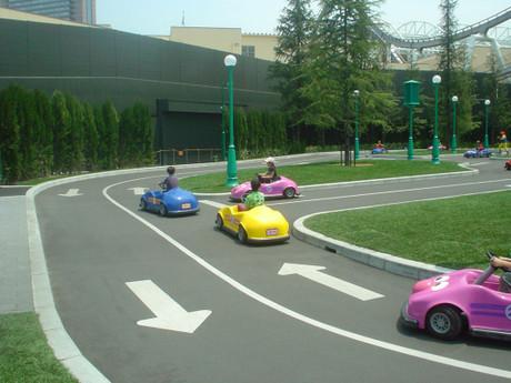 セサミのビッグ・ドライブは、何回でも乗れました。