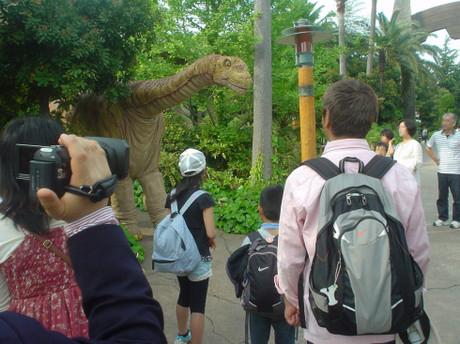パッと見はリアルな感じのなんとかザウルス