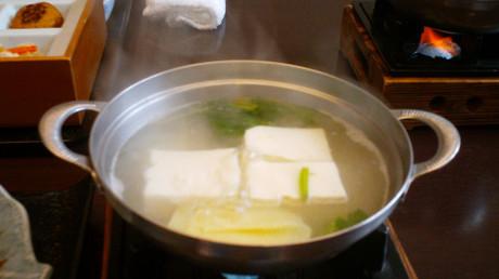 湯豆腐までは手が回りません