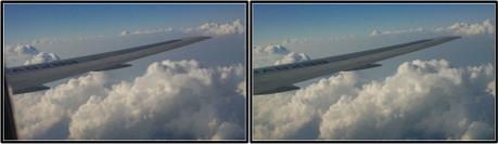 少しずつ雲が広がってきました(3D クリックで拡大画像)
