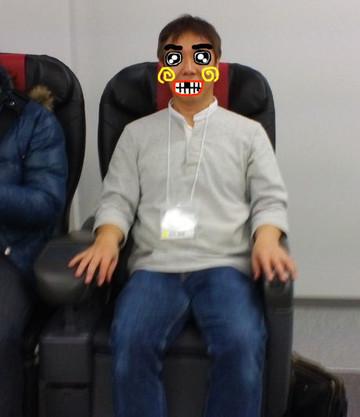 SIOUXも実際に座らせていただきました