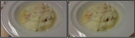 洋食(魚)のメイン(平行法用立体画像)