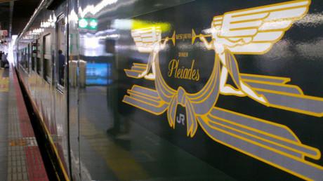 トワイライトエクスプレスの食堂車 ダイナープレアデス