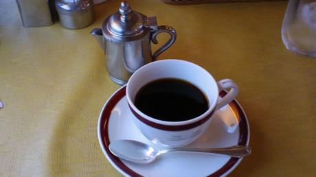 最後にぬるいコーヒーが出てきたのが残念でした