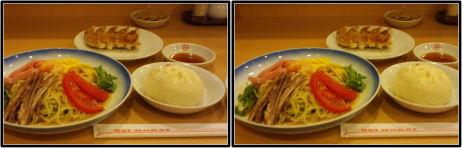551蓬莱飲茶カフェでお昼ごはん(平行法立体視用)