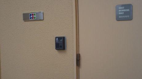 JCBラウンジへの秘密の扉